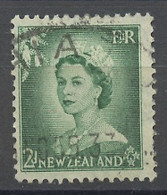 Nouvelle Zélande - Neuseeland - New Zealand 1954-57 Y&T N°330 - Michel N°335 (o) - 2p Elisabeth II - Used Stamps