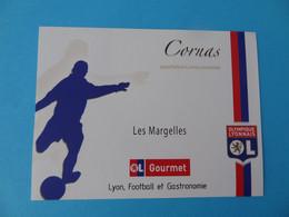 Etiquette Neuve Olympique Lyonnais Football Cornas Les Margelles - Calcio