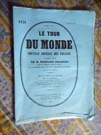 LE TOUR DU MONDE 09/09/1882 BELGIQUE ANVERS THEATRE CARNAVAL PORT LOOS NAVIRE CANAL MUSEE PLANTIN - 1850 - 1899