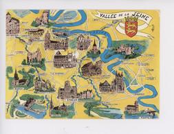 Normandie Géographique Vallée De La Seine, Pont-Audemer Mantes Conches Bernay Gisors Evreux Andelys Elbeuf - Basse-Normandie