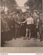 1907 TOUR DE FRANCE - LUNEVILLE - ÉPINAL - COMTE ZEPPELIN PRÉFET DE METZ - AUTODROME DE BROOKLAND - RÉGATES D´HENL - 1900 - 1949