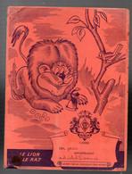 Protège-cahier CHOCOLAT MEUNIER Fables De La Fontaine Le Lion Et Le Rat (M2160) - Book Covers