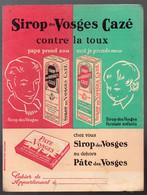 Protège-cahier SIROP DES VOSGES CAZE   (M2162) - Book Covers