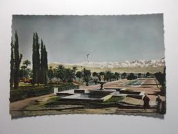 MARRAKECH Les Jardins Du Casino Et L'Atlas - Marrakesh