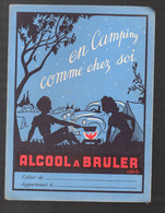 Protège-cahier ALCOOL A BRULER  (M2165) - Book Covers