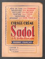 Protège-cahier CIRAGE CREME SADOL (M2172) - Book Covers