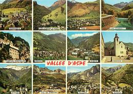 64 - Pyrénées Atlantiques - Vallée D'Aspe - Multivues - Carte Collection D'Art Pyrénéen - CPM - Voir Scans Recto-Verso - Sonstige Gemeinden