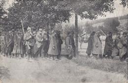 CARTE PROPAGANDE ALLEMANDE GUERRE 14-18 - PRISONNIERS FRANÇAIS APRÈS LA BATAILLE DE METZ - Oorlog 1914-18