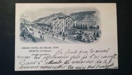 74 - MEGEVE - GRAND HOTEL DU SOLEIL D'OR - Megève