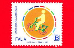 """Nuovo - MNH - ITALIA - 2021 - Sostenibilità Ambientale (foglietto) - """"ACT NOW"""" - """"PUOI FARLO GIÀ ADESSO"""" - B - 2011-...: Ungebraucht"""
