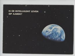 TOYOTA Y A T'il Une Vie Intelligente Sur Terre ? Is Er Intelligent Leven Op Aarde ? Cp Double Vierge - Advertising