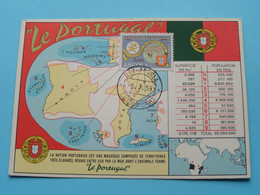 EXPO 58 Brussel  > LE PORTUGAL / Angola ( Superficie / Population ) > ( See / Voir Scans ) Emile Marini ! - Universal Exhibitions