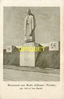 85 Olonne Sur Mer, Le Monument Aux Morts, Carte Pas Courante - Other Municipalities