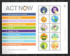 2020 - **MNH - SAINT MARIN - Act Now, Lutte Contre Le COVID - Joint Issues