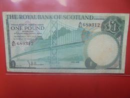 ECOSSE 1 POUND 1970 Circuler (B.23) - 1 Pound