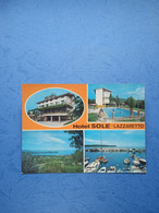 ALBERGHI-RISTORANTI-LAZZARETTO-MUGGIA(TS)-HOTEL SOLE-1977 - Hotels & Restaurants