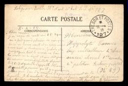 CACHET TRESOR ET POSTES - SECTEUR 127 - ENVOYE LE 11.04.1915 SUR CARTE D'ARRAS PAR SOLIGNAC EMILE 38E D'ART 4E BAT - Oorlog 1914-18