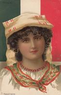 NAPOLI-COSTUMI-NAPOLITAINE-CARTOLINA NON VIAGGIATA -1900-1904 - Napoli (Naples)