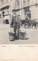 NAPOLI-COSTUMI-CUCINIERE AMBULANTE-CARTOLINA NON VIAGGIATA -1900-1904 - Napoli