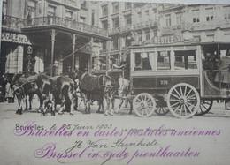Livre BRUXELLES En Cartes Postales Anciennes Brussel - Belgium