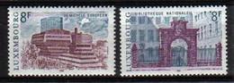 Luxemburg 1981 Architecture Y.T. 979/980  ** - Nuovi