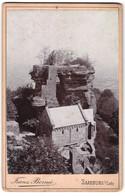 Photo Franz Bornee, Saarburg I. Lothr.,  Vue De Saarburg / Lothringen, Kapelle & Burgruine - Luoghi