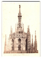 Foto Georges Sommer, Naples, Ansicht Mailand - Milano, Dom - Il Duomo - Luoghi