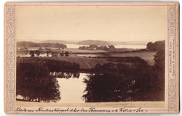 Fotografie Alb. Giesler, Eutin, Ansicht Bruhnskoppel, Keller-See Mit Landschaftspanorama - Luoghi