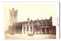 Photo Fotograf Unbekannt, Ansicht Manchester, Cathedral - Kathedrale - Luoghi