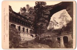 Fotografie Friedrich Axt, Dresden, Seestr. 3, Ansicht Prebischthor, Hotel Am Tor - Luoghi