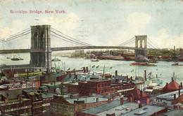 Brooklyn Bridge New York RV Timbre Cachet - Ponti E Gallerie
