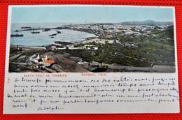 TENERIFE -   Santa Cruz De Tenerife -  Panorama - Tenerife