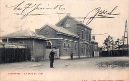 Belgique - Florennes -La Gare De L' Est - Florennes