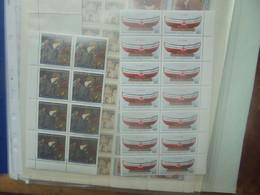 ALLEMAGNE (+Un Peu Divers) LOT DE FEUILLES COMPLETES Et INCOMPLETES (RH.153) 500 Grammes - Collections