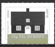 Islande 2019 Timbre Neuf SEPAC Maisons Anciennes - Nuovi