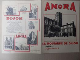 Beau Protège Cahier Amora La Moutarde De Dijon. - Non Classés