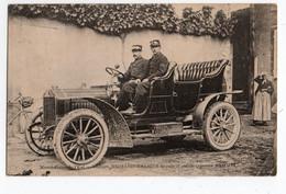 AUTOMOBILE * MANOEUVRES DE L'EST * VOITURE RICHARD BRASIER * ANTIDERAPANTS SAMSON * - Passenger Cars