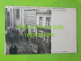 59 213 LILLE Inventaire De L'église St Étienne La Porte Foncée - Lille