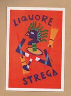 PostCard , Liquore Strega . . - Advertising