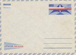 Poland Envelope Ck 68: Par Avion - Postwaardestukken