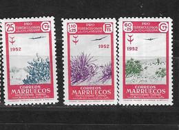 MARRUECO Nº AE 79 AL 81 - Marruecos (1956-...)