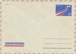 Poland Envelope Ck 71: Par Avion - Postwaardestukken