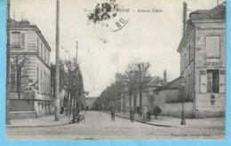 Bourg-la-Reine (Bagneux-Hauts De Seine)-écrite  1919-Avenue Galois-exp.vers L'Hôpital Militaire Belge D'Oostende-Ostende - Bourg La Reine