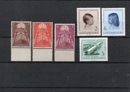 6 Timbres 1957 Neuf Sans Charnières ** - Unused Stamps