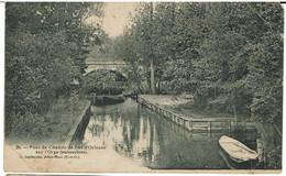 CPA - 91 - JUVISY - Pont Du Chemin De Fer D'Orléans Sur L'Orge (embouchure) - Juvisy-sur-Orge