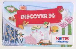 Singapore Cash Card Transport Card Used Cashcard - Altri