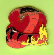 Gros Pin's Disney Cobra Jafar (Aladdin) ÉL300 (Double Moule) - #261 - Disney