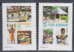 """Sénégal N° 1279 / 80 XX """"Sénégal'98"""" 25è Anniversaire Du Club Aldiana Les 2 Valeurs Sans Charnière, TB - Senegal (1960-...)"""