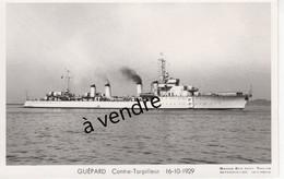 GUÉPARD  Contre-Torpilleur  16-10-1929 - Warships