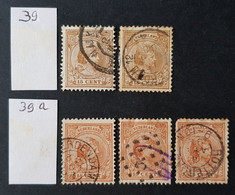 Pays-Bas - Nederland, Timbre(s) Y&T 39 - (O) - 1 Scan(s) - TB - 349 - Gebruikt